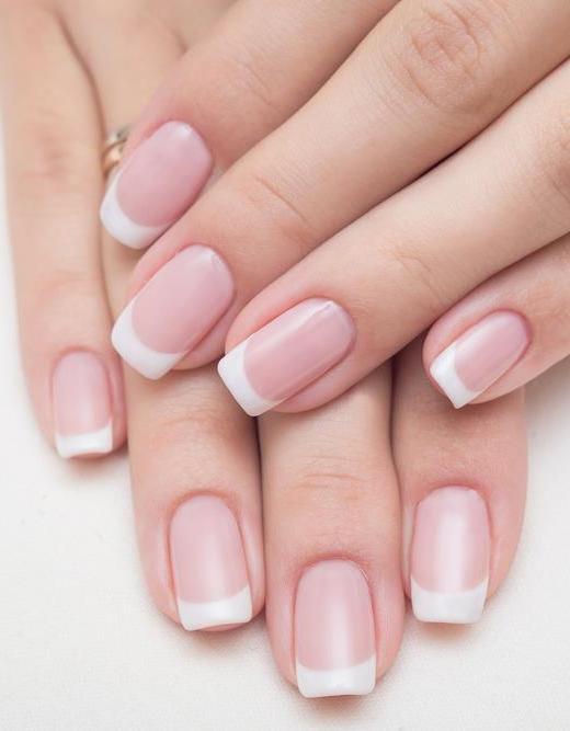 Tl Nails Spa Pink White Full Set